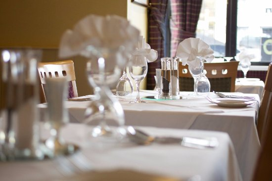 Exford, UK: Restaurant Dining