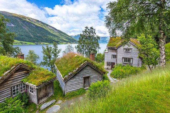 Sogn og Fjordane, Noruega: Astruptunet: artist home, atelier and gallery.
