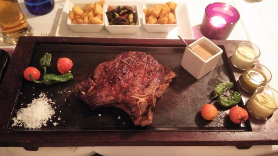 The best steak ever picture of la boheme javea - La boheme javea ...