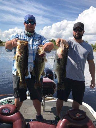 Okeechobee, FL: Biggest catches of the day!