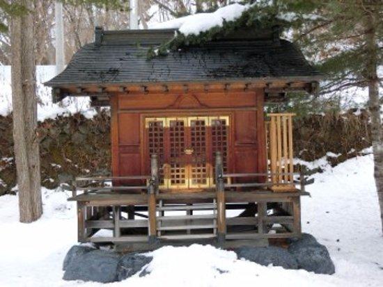 Yubari, Japan: 小さな社殿