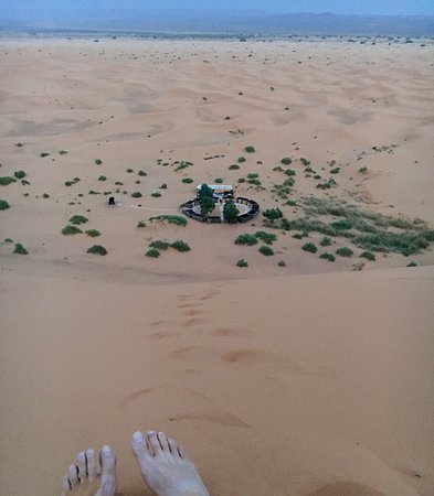 Ksar Bicha: the camp by the largest dune is here: