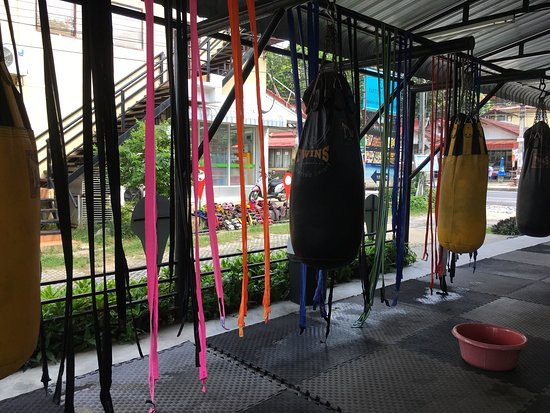 Mae Nam, Tailandia: Good Gym!!