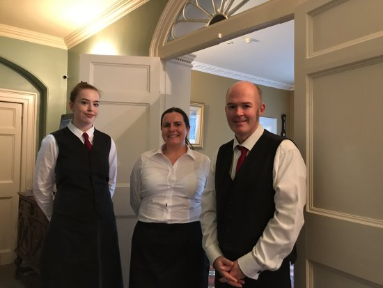 Castle Grove Country House Hotel: This was the staff who met us as we arrived and helped with the bags.