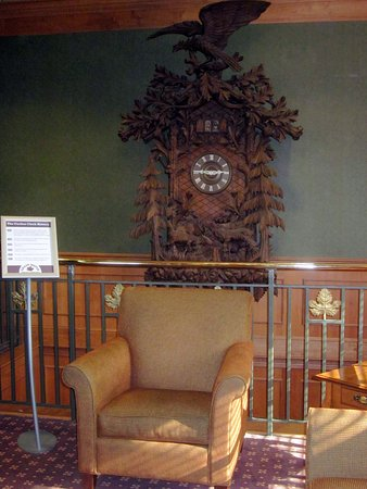 Large Carved Cuckoo Clock Picture Of