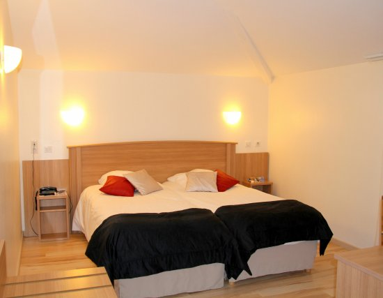 L'Oie, France : chambre twin