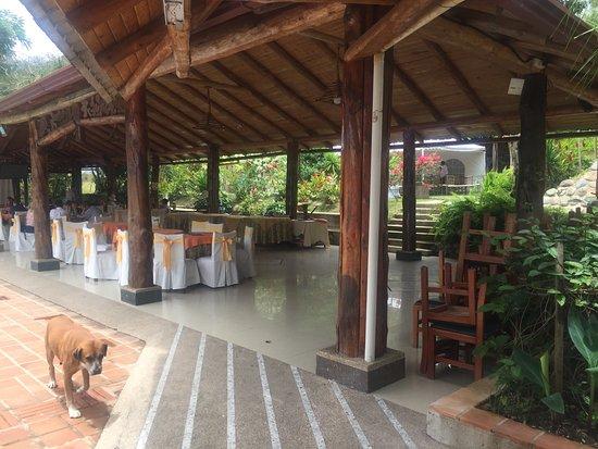 Zamora, Ecuador: Dining area
