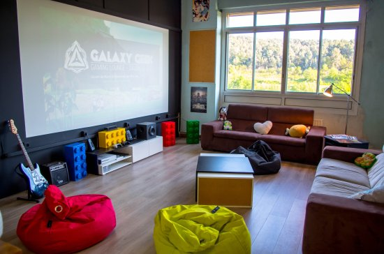 ‪Galaxy Geek Gaming Lounge‬
