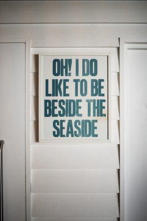 Ilfracombe, UK: Seaside Print Inside