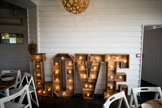 Ilfracombe, UK: LOVE Letters