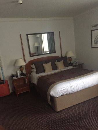 Brandshatch Place Hotel & Spa: Executive double room