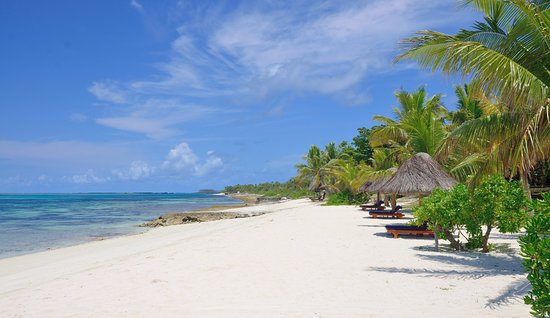 Wyspy Yasawa, Fidżi: Perfect beach at Viwa Island Resort