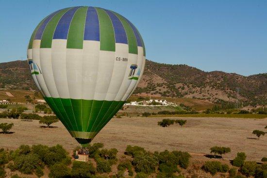 Ballon ride with Herdade do Sobroso