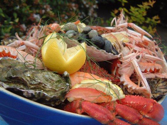 Restaurant Hotel Le Capricorne : Plateau de fruits de mer