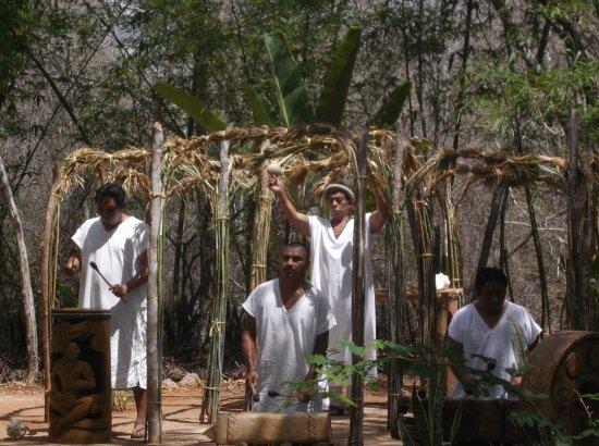 Ticul, เม็กซิโก: Cacao harvest ceremony