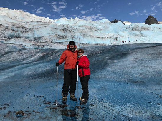 Alaska's Finest Tours & Cruises - Tours: Walking on the Mendenhall Glacier was the highlight of our trip.
