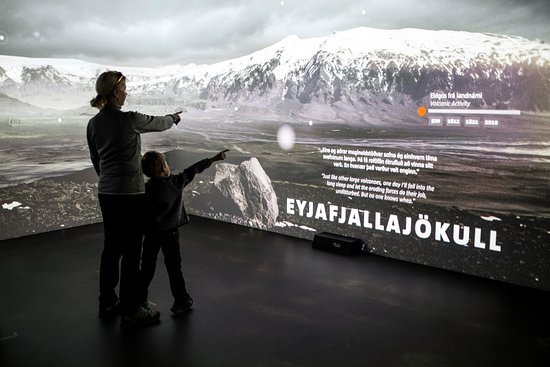 Hvolsvollur, Iceland: Interactive Volcanoes. You can learn as you play