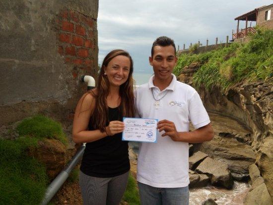 Tola, นิการากัว: Graduation at Pie de Gigante Spanish School in Playa Gigante, Nicaragua.