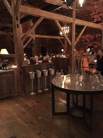 Walland, TN: The Barn for Dinner