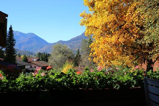 Hotel Gabriele : Herbstblick vom Balkon