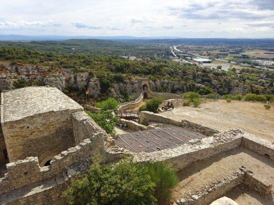 Mornas, Prancis: uitzicht vanaf wachttoren