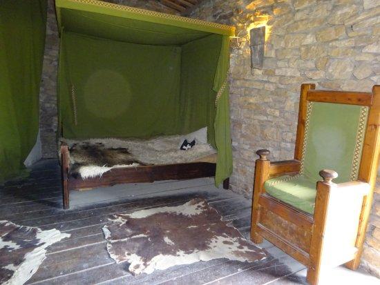 Mornas, Prancis: slaapkamer in het fort