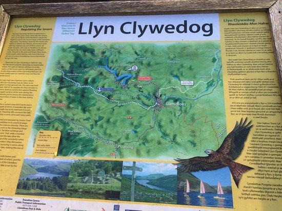Llanidloes, UK: Clywedog Reservoir