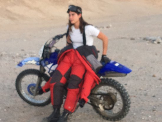 Salton City, Kalifornien: Great equipment at American ATV rentals. And a couple shots from The North Face photo shoot on e