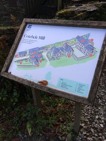 St Dominick, UK: Cotehill Mill board