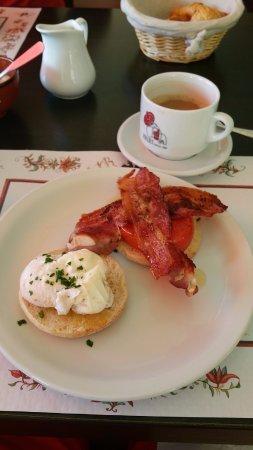 Tasty delicious cooked breakfast at La Terrasse de Verchaix
