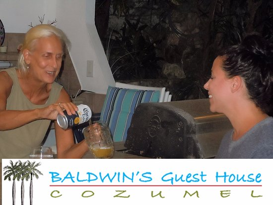 Baldwin's Guest House Cozumel: Our Hostess with the Mostess - Miss Hannah