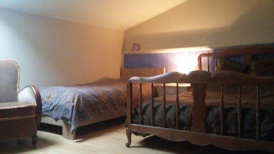 Ecurey-en-Verdunois, Frankrike: La chambre bleue (pour 3 personnes)