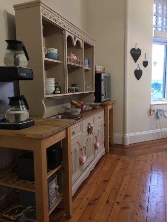 Peterculter, UK : Breakfast room showing various breakfast selections