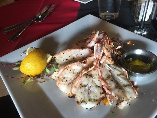 Corrales, Nuevo Mexico: Grilled Shrimp w/ Smoked Gouda Potatoes