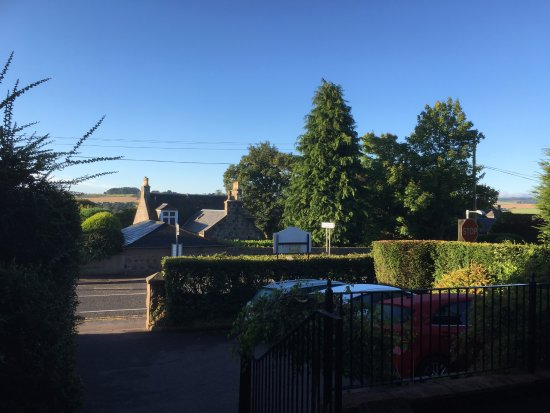 Peterculter, UK : View from the front door looking out on a beautiful summers morning