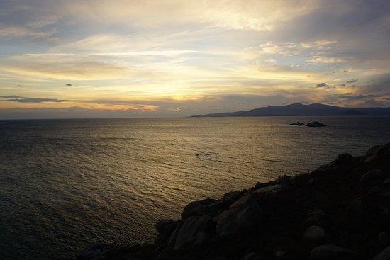 Mikri Vigla Beach : beautiful view