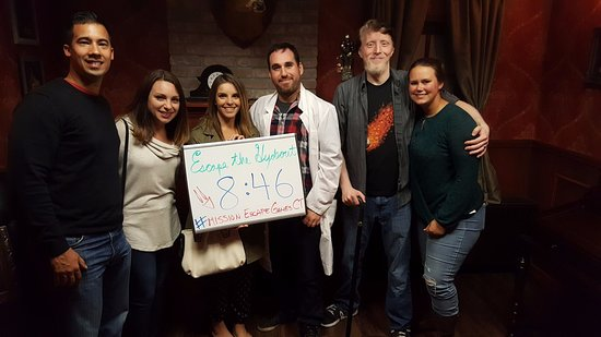West Hartford, CT: They escaped before Hyde returned!