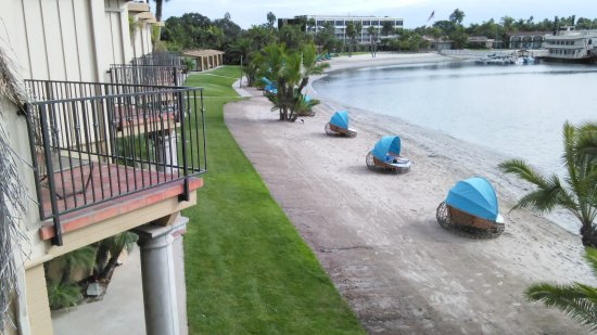 Bahia Resort Hotel: From our Bay Front Suite.