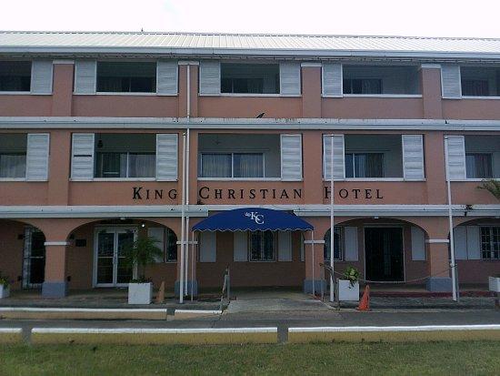 King Christian Hotel : Entrance