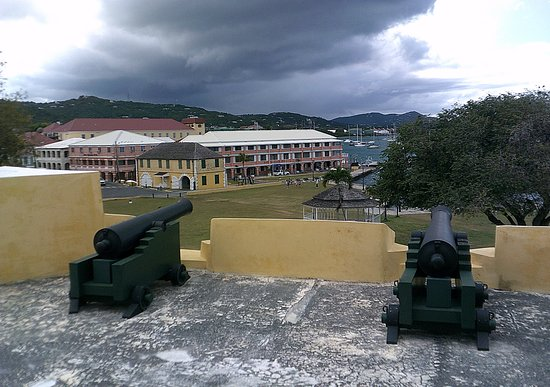 King Christian Hotel : Seen from the fort