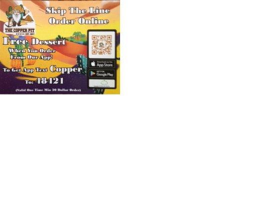 เพรสคอตต์เวลลีย์, อาริโซน่า: The new Copper Pit mobile device information card