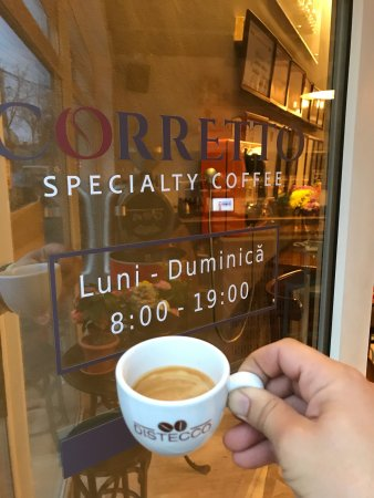 Constanta County, โรมาเนีย: Corretto! Prajitorie de cafea & Coffee shop