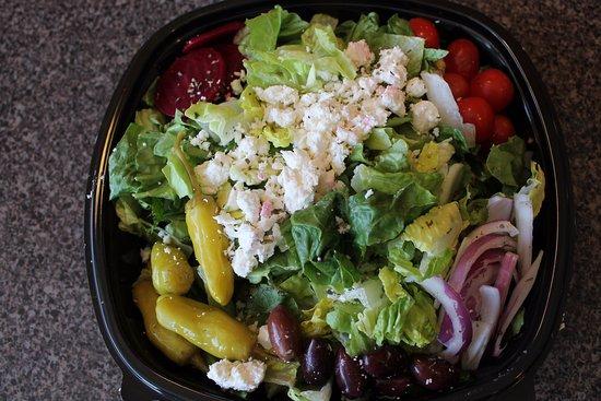 Charlotte, MI: Greek Salad