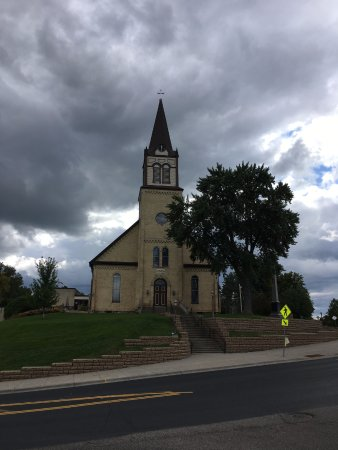 Center City, MN: Front of Church