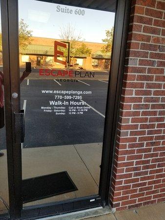 Loganville, GA: Front Door