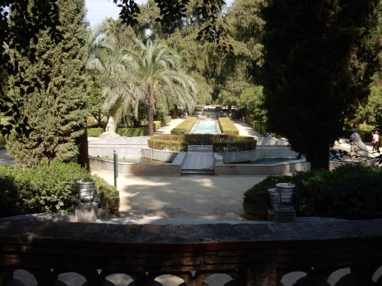 Parque de Maria Luisa: In the shade
