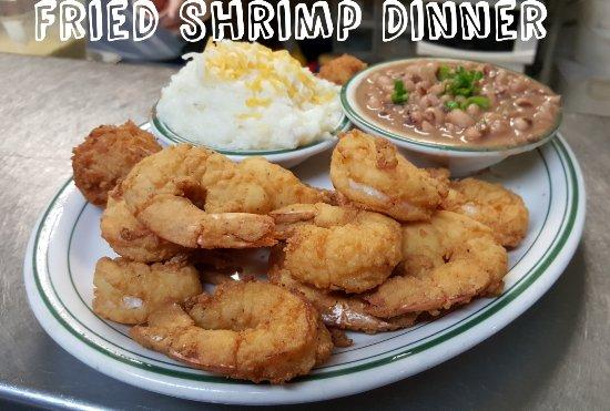 Crestview, FL: Fried Gulf Shrimp Dinner