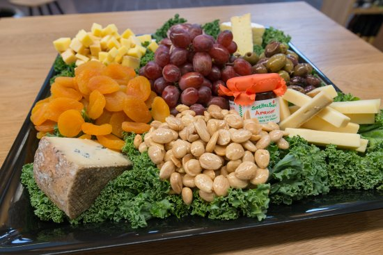 Cheese platters are perfect for entertaining.