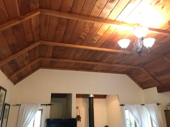 Waimauku, New Zealand: Timber ceilings