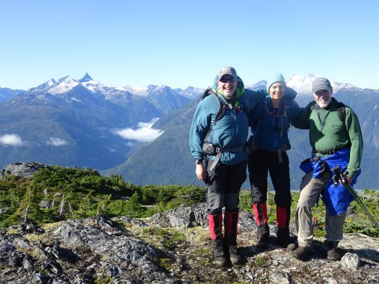 Pemberton, Canada: Hiking high above The Great Bear Rainforest Of Bella Coola